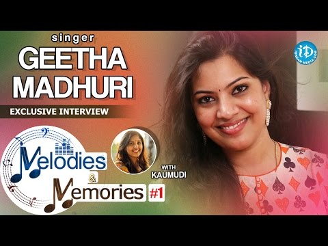 Singer Geetha Madhuri Exclusive Interview || Melodies & Memories #1