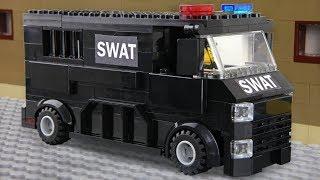 Lego SWAT - invisible Man Prison Break
