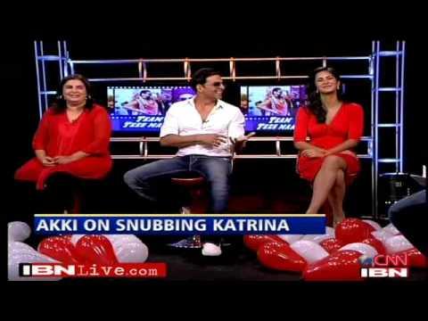 Tees Maar Khan Katrina Kaif Akshay Farah Khan Interview