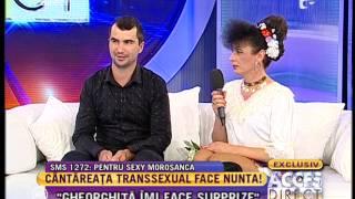 Șoc! Cântăreața transsexual a fost cerută în căsătorie la Acces Direct!