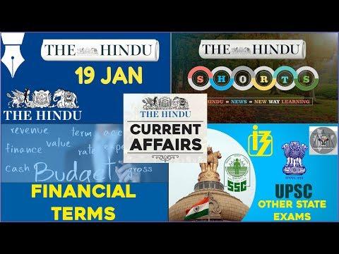 Xxx Mp4 CURRENT AFFAIRS THE HINDU 19th January 2018 UPSC IBPS RRB SSC CDS IB CLAT 3gp Sex