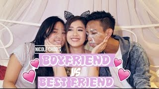 BFF VS BF | Nicole x Ridhwan x Rebecca