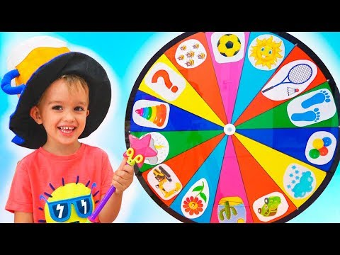 Xxx Mp4 Funny Kids Pretend Play With Magic Wheel Video For Children From Vlad And Nikita 3gp Sex
