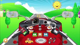 Baby Bike - Fun Role Play Motorbike Game for Toddlers with Babies Songs!