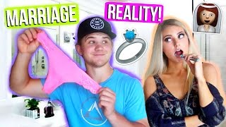 What Being Married is REALLY Like ... | Marriage Q&A!