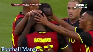 Belgium vs Czech Republic 2-1 All Goals & Full Highlights HD 05-06-2017