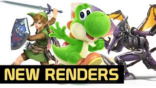 New Super Smash Bros. Ultimate Costume Renders Discovered