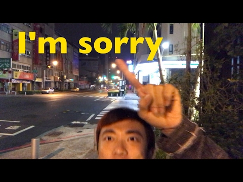 Is it too late now to say sorry? Cos I'm missing more than just a vlog episode. Feat DJI OSMO Mobile