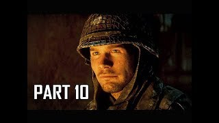 CALL OF DUTY WW2 Walkthrough Part 10 - Battle of the Bulge (Campaign Story Let's Play Commentary)