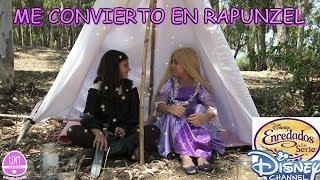 ME CONVIERTO EN RAPUNZEL/DISNEY CHANNEL/ LA DIVERSION DE MARTINA