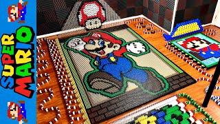 Mario (IN 24,000 DOMINOES!)