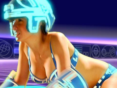 TRON GIRL: Behind the Nerds!