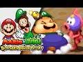 LUIGI GORDITO v.s. CHACRÓN! | Mario & Luigi: Bowser Inside Story 3DS | Ep 32 -- RED SHOCK --