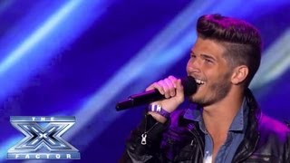Blake Shankle - Shankle Gets the Shaft - THE X FACTOR USA 2013
