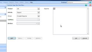 Hanging Crystal Reports inside Sage Abra Suite