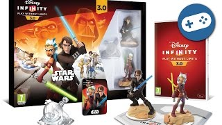 Disney Infinity 3.0 Star Wars Unboxing and Gameplay Intro