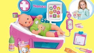 Doctor Why is Nenuco Crying Eletronic Clinic Hospictal toy !  Play doctor & check up Baby Dolls