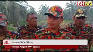 Operasi padam hutan terbakar 24 jam
