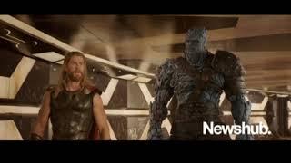 Thor Ragnarok: Korgs Introduction [Rock, Paper, Scissors Joke!]