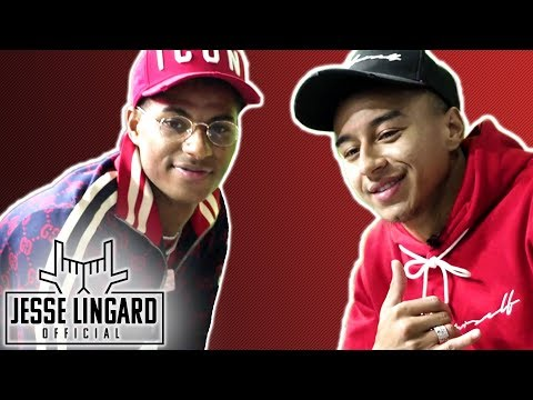 Jesse Lingard Launches JLingz This is MAD Look How Many People Are Here