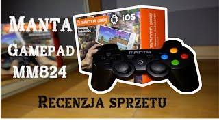 #3 Manta Gaming Gamepad MM824-recenzja sprzętu