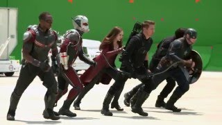 CAPTAIN AMERICA: CIVIL WAR - Behind The Scenes (STEM Outreach Program)