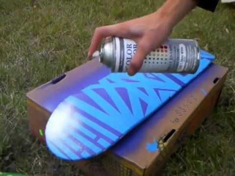 Modacalle Zapatillas Peru como pintar su plancha de skate.mp4