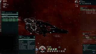 EVE Online - wh c6 Core Citadel  - Rattlesnake SOLO