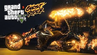 GTA 5 Mods - ULTIMATE GHOST RIDER MOD!! GTA 5 Ghost Rider Mod Gameplay! (GTA 5 Mods Gameplay)