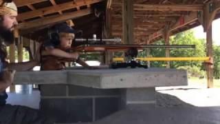 Hunter shooting my 6 Dasher at 540 yards