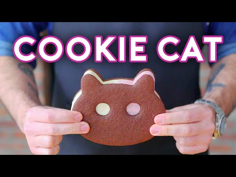 Binging with Babish Cookie Cat from Steven Universe