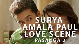 Pasanga 2 - Suriya, amala paul Love Scene | Pandiraj