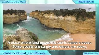 class IV Social Science Landforms of the World