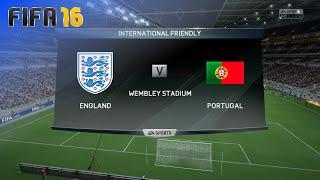 FIFA 16 - England National Team vs. Portugal National Team @ Wembley Stadium