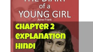Diary of a Young Girl Chapter 2 Class 10 Hindi Explanation