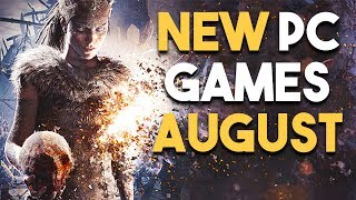 Top 5 NEW PC Games Coming in August 2017 UPCOMING PC Games in August