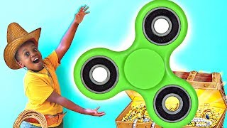 FIDGET SPINNER TREASURE HUNT! - Cowboy Shiloh And Shasha - Onyx Kids