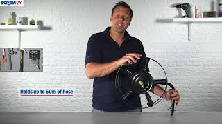 Wall-Mounted Hose Reel | Screwfix