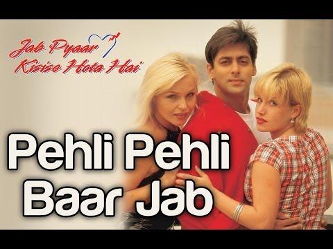 Xxx Mp4 Pehli Pehli Baar Jab Jab Pyaar Kisise Hota Hai Salman Khan Kumar Sanu Jatin Lalit 3gp Sex