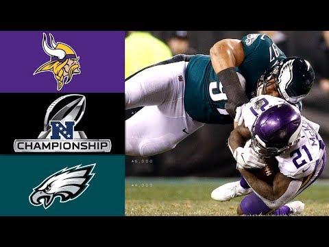Xxx Mp4 Vikings Vs Eagles NFL NFC Championship Game Highlights 3gp Sex