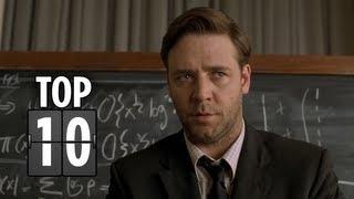 Top Ten Geniuses Portrayed In Films - Movie Top 10 List HD