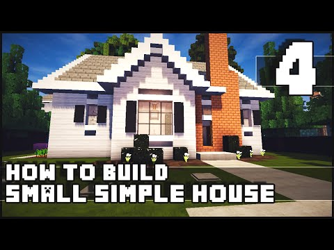 Xxx Mp4 Minecraft House How To Build Simple Small House Part 4 Download 3gp Sex