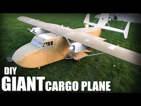 DIY Giant Cargo Plane Flite Test