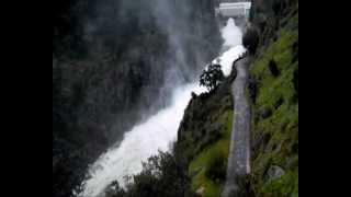 descarga barragem do cabril 2013