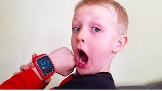 HE KEEPS PRANK CALLING US! James Gets A Smart Watch!