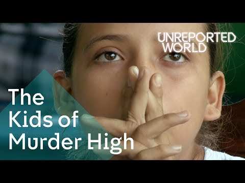 Xxx Mp4 Going To School Amid Violence In Honduras Unreported World 3gp Sex