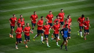 شاهد اهم تمارين اللياقة البدنية و المرونة و العضلات للاعبي كرة القدم