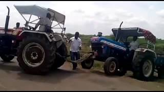 Open Challenge Between Eicher 485 Vs New Holland 3630 tractor tochan