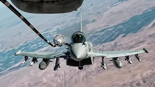 Royal Air Force Typhoon FGR4 • In-flight Refueling