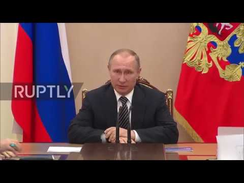 Russia: Putin discusses outcome of Erdogan meeting with Security Council